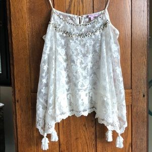 Calypso St.Barth lace top/camisole /cover up